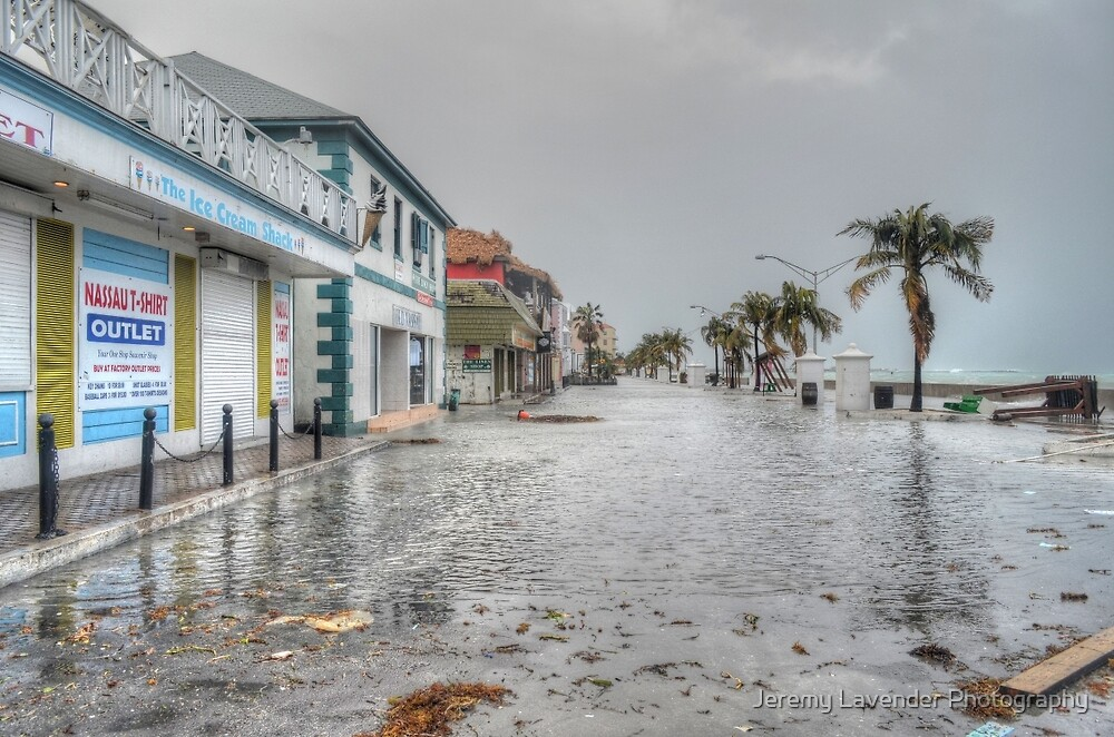 The day after Hurricane Sandy on Governor Woodes Rogers Walk in Downtown Nassau, The Bahamas by Jeremy Lavender Photography