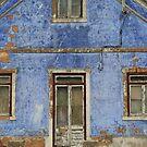 Bleu house by Peter Voerman