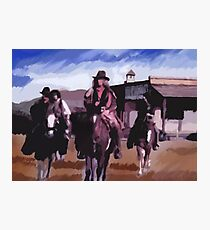 Saloon Drifters Photographic Print