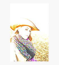 Cowgirl Assistance Photographic Print