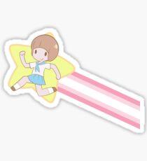 Kill la Kill - Mako Star Jump Sticker