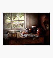 Chef - Just another morning  Photographic Print