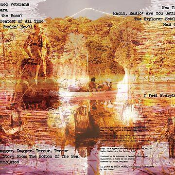 Hey, Hey Pioneers LP cover by bethraebel