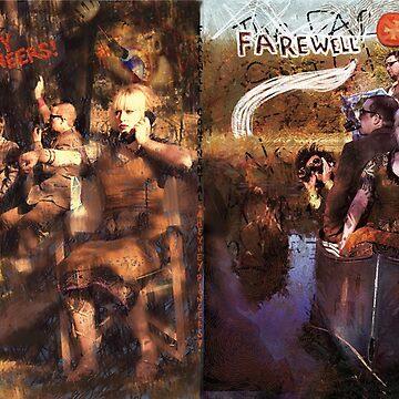 Hey, Hey Pioneers LP cover 2 by bethraebel