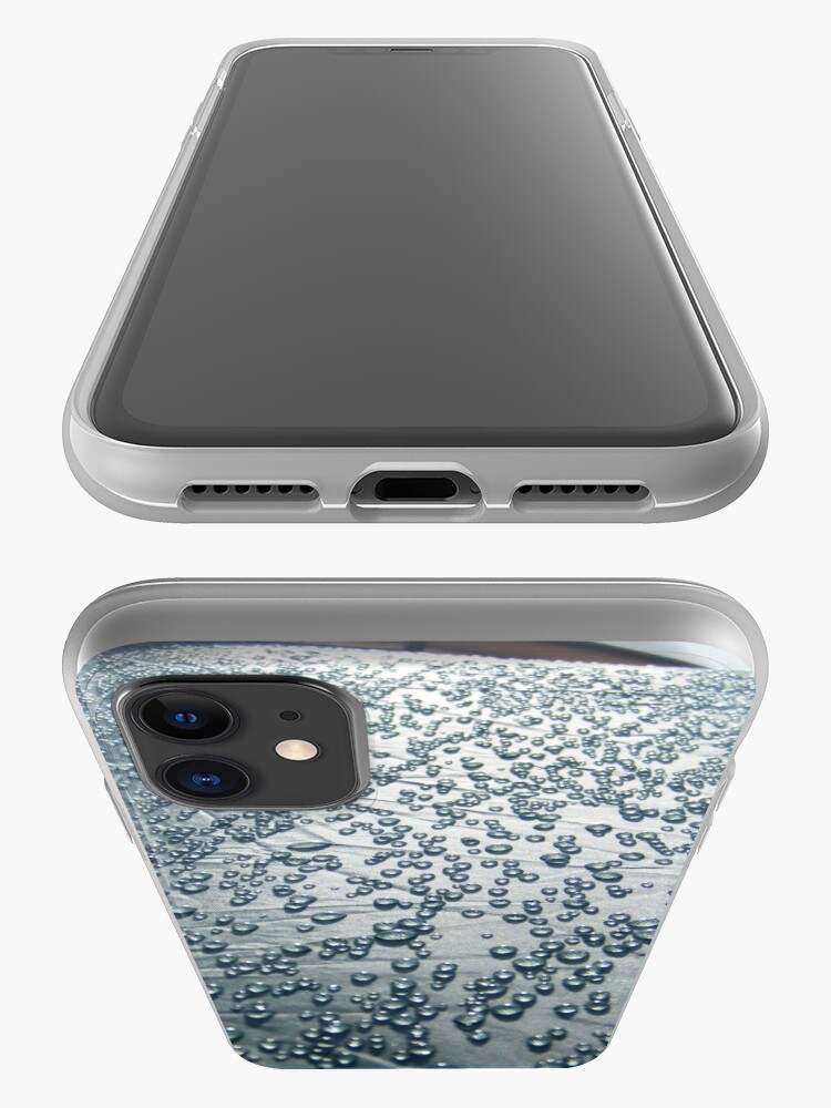 Alternate view of Rain on tent iPhone Case & Cover