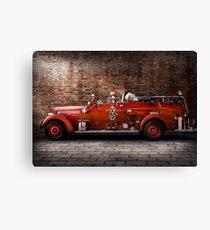 Fireman - FGP Engine No2 Canvas Print