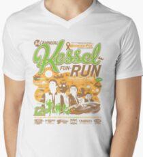 Kessel Fun-Run (12-Parsec Race to Cure Wookiee-Pox) Men's V-Neck T-Shirt