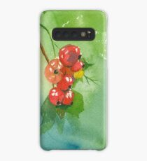 Red Currant Case/Skin for Samsung Galaxy
