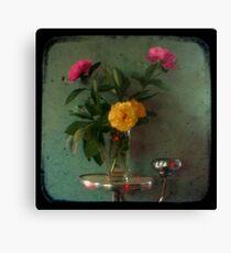 Peonies & Roses - Still Life TTV Canvas Print