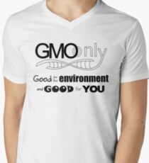 GMO Good for the environment and for you B V-Neck T-Shirt