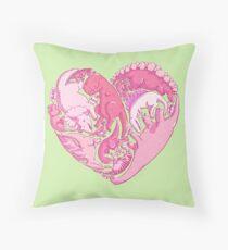 Loveasaurus Throw Pillow