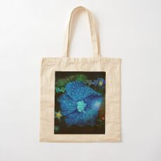 Night Time in the Garden Cotton Tote Bag