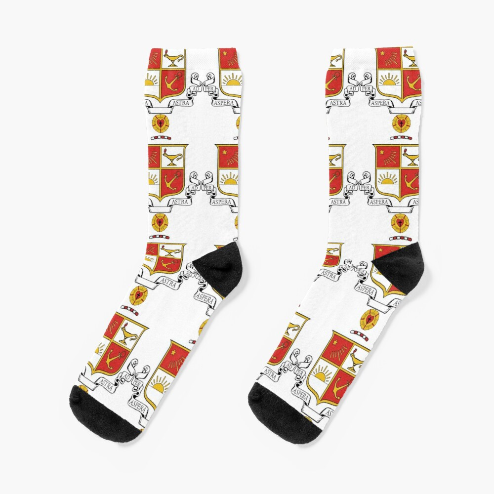 Beta Sigma Psi - Crest Socks