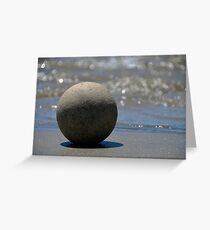 The Zen Stone Greeting Card