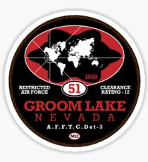Groome Lake - Area51 Sticker