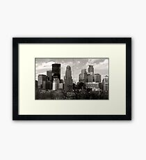 Window to Minneapolis Framed Print