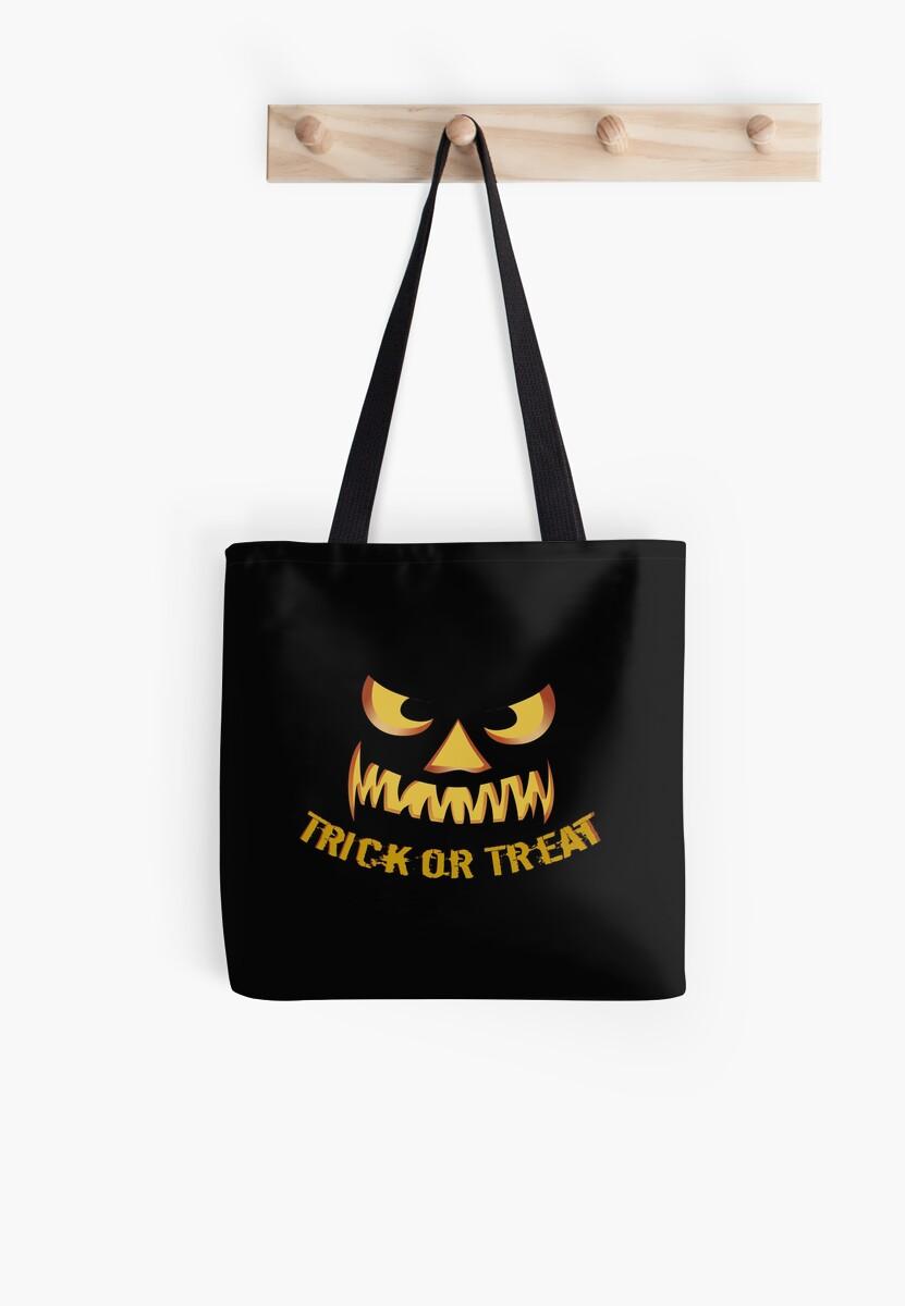 Trick or Treat with Pumpkin Face von pASob-dESIGN