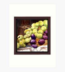 Greenlight Grapes Art Print