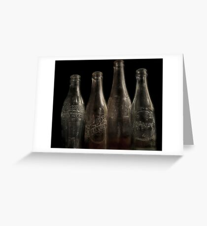 It was Best in the Bottle Greeting Card