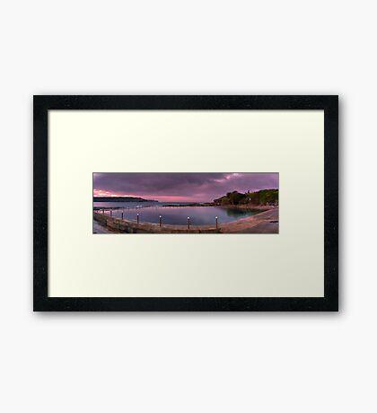 Malabar Baths Panorama Framed Print