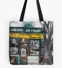 Postcards from Paris - Shakespeare and Company Tote Bag