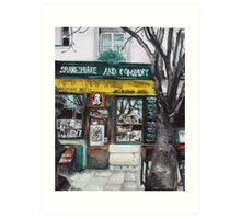 Postcards from Paris - Shakespeare and Company Art Print