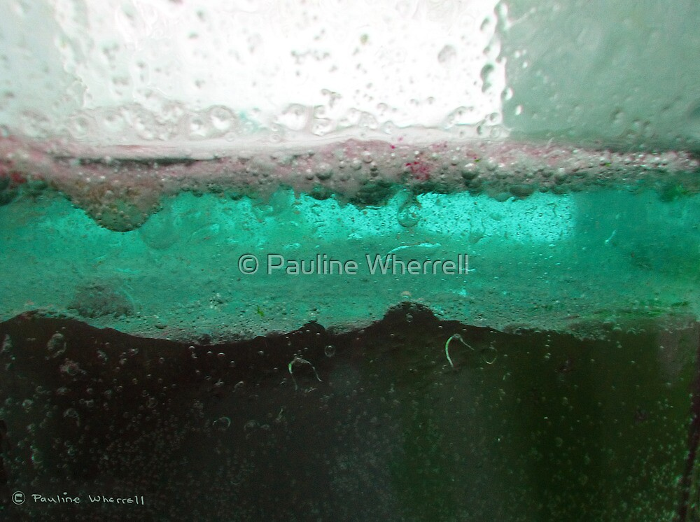 Water abstract by © Pauline Wherrell