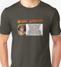 WORST ADVENTURERS - Indy Brody Bluff (deutsch) T-Shirt
