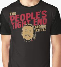Officially Licensed George Kittle The People s Tight End T shirt Graphic T-Shirt
