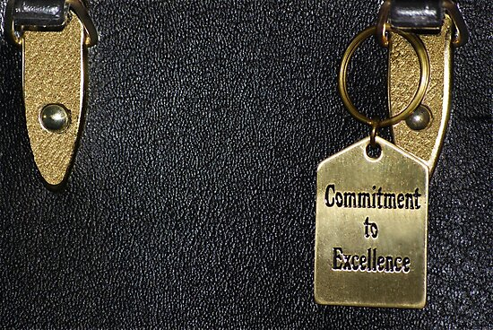 """""""Commitment to Excellence"""" by Laurie Minor"""