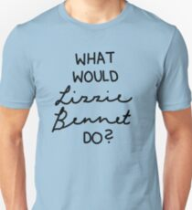 What Would Lizzie Bennet Do? Unisex T-Shirt