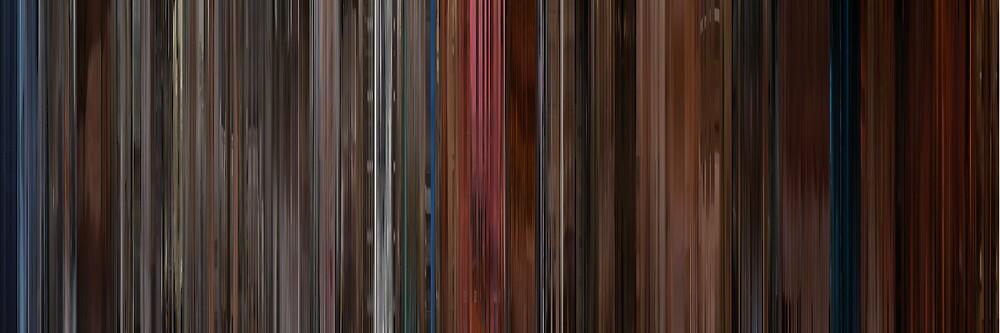 Moviebarcode: A Single Man (2009) by moviebarcode