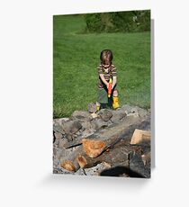 Junior Fire Fighter!!! Greeting Card