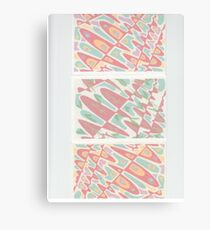 Psychedelic Pastels Canvas Print