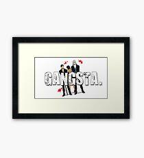 The Gangsta Squad Framed Print