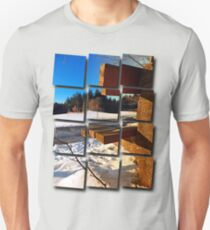 Winter afternoon point of view | landscape photography Unisex T-Shirt