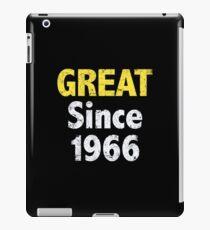 Great Since 1966 iPad Case/Skin