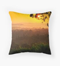 San Gimignano Hills #2 Throw Pillow