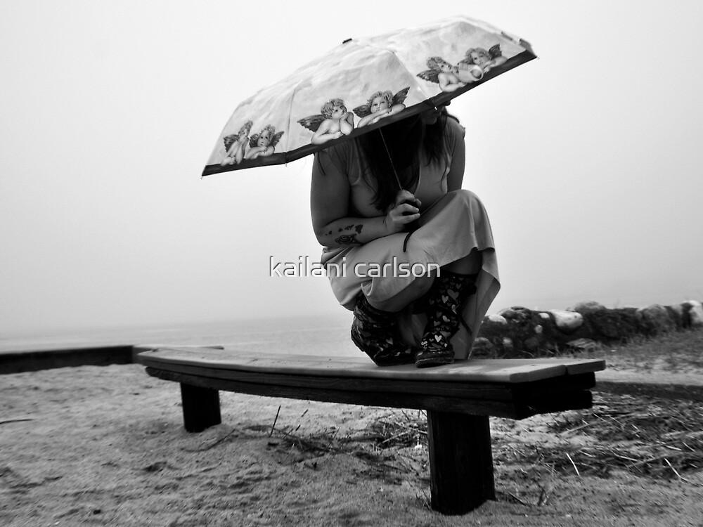 White Sky-Rainy Days Are Fun Too! by kailani carlson