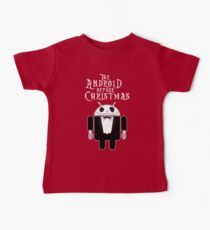 The Android Before Christmas  Baby Tee