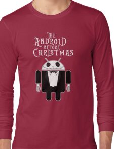 The Android Before Christmas  Long Sleeve T-Shirt