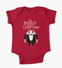 The Android Before Christmas  One Piece - Short Sleeve