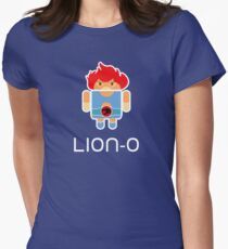 Droidarmy: Thunderdroid Lion-o Womens Fitted T-Shirt