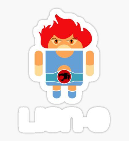 Droidarmy: Thunderdroid Lion-o Sticker