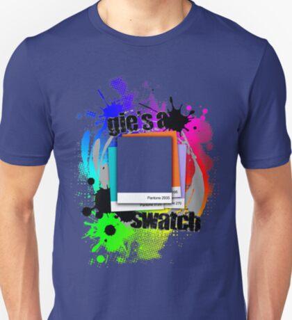 """Gie's a Swatch"" – Blue T-Shirt"