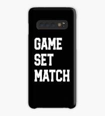 Tennis Player Gift - Game Set Match Case/Skin for Samsung Galaxy