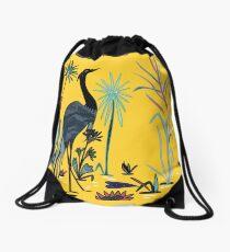 Yellow Pond Drawstring Bag