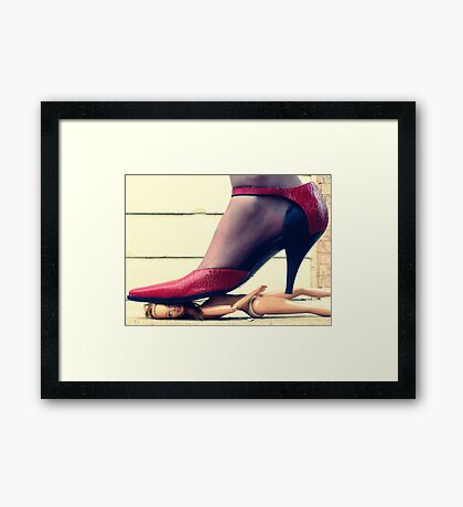 And That's All I Have To Say about That Framed Print