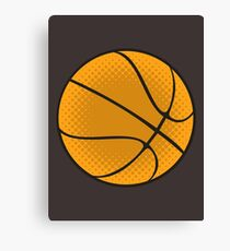 Basketball Vector Canvas Print