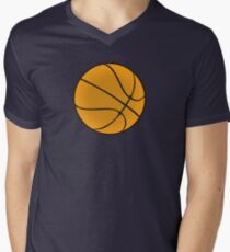 Basketball Vector Men's V-Neck T-Shirt